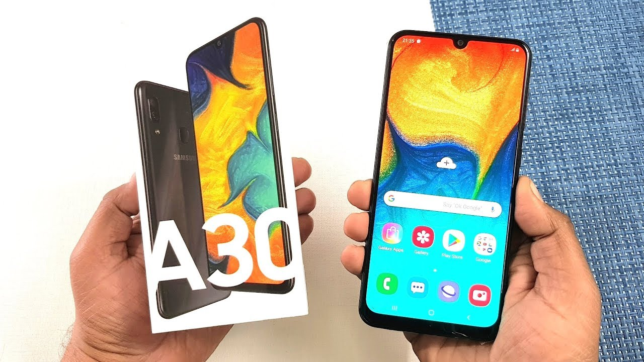 a5d55d0279e Samsung Galaxy A30 Unboxing   Full Review !!! - YouTube