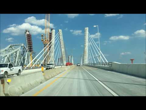 Drive Across the New Goethals Bridge