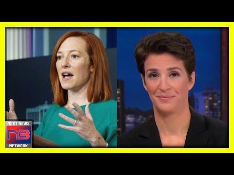 MSNBC's Rachel Maddow LOVES Jen Psaki's Press Conferences... Except for One Small Aspect