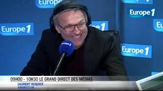"""Laurent Ruquier """"triste et soulagé"""""""