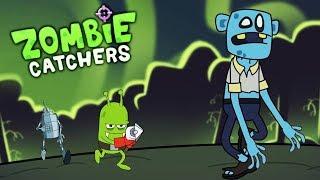 Мульт Игра ОХОТА НА ЗОМБИ Видео для детей про охотников на зомби Zombie Catchers