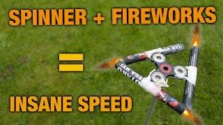 Fidget Spinner + Fireworks = Insane!! + Giveaway