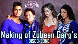 Zubeen Garg Assamese Song | Making | Assamese Movie 2018