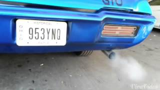 1968 GTO start up and drive
