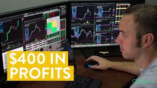 [LIVE] Day Trading | $400 in Stock Trade Profits (In Only 45 Minutes)