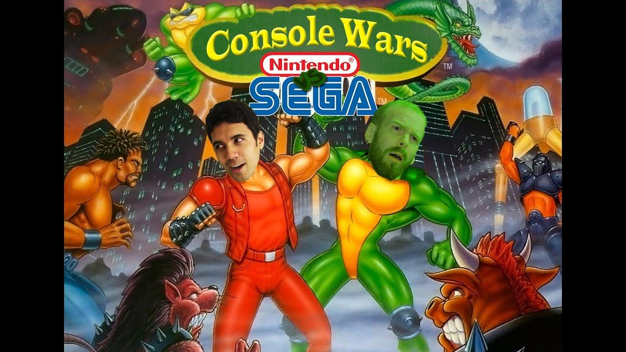 Console Wars - Battletoads & Double Dragon - Super Nintendo vs Sega Genesis