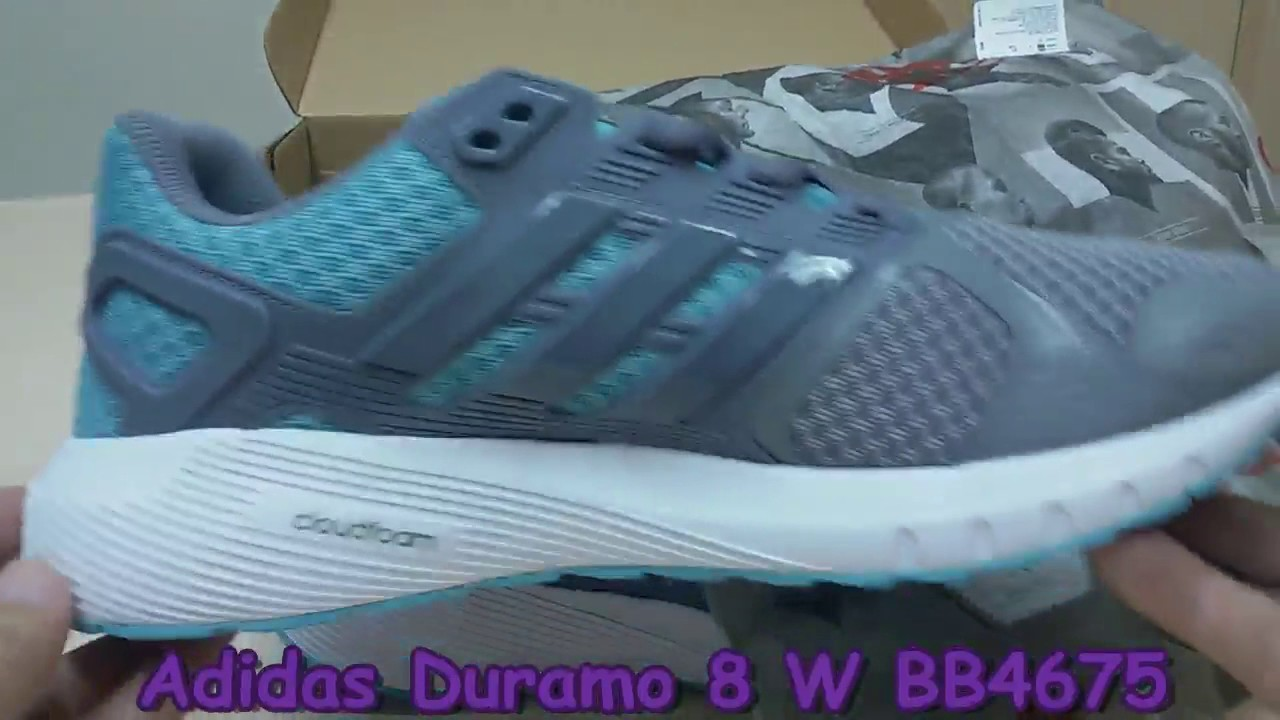 purchase cheap bccb1 628c3 Unboxing Review sneakers Adidas Duramo 8 W BB4675