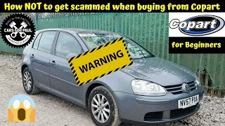 Download How Not to get scammed when buying cars from Copart Mp3 and Videos