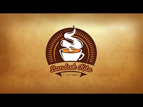 Adobe Illustrator CS6 – Coffee Vintage Logo Design (Speed art)