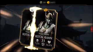 Mortal Kombat Mobile #29 - Kotal Kahn Señor Oscuro y compra de packs
