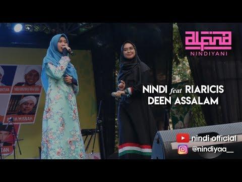Alfina Nindiyani feat Ria Ricis - DEEN ASSALAM (Performance)