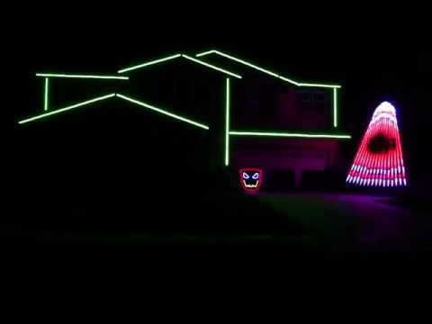 SLAYER HALLOWEEN LIGHTS 2017