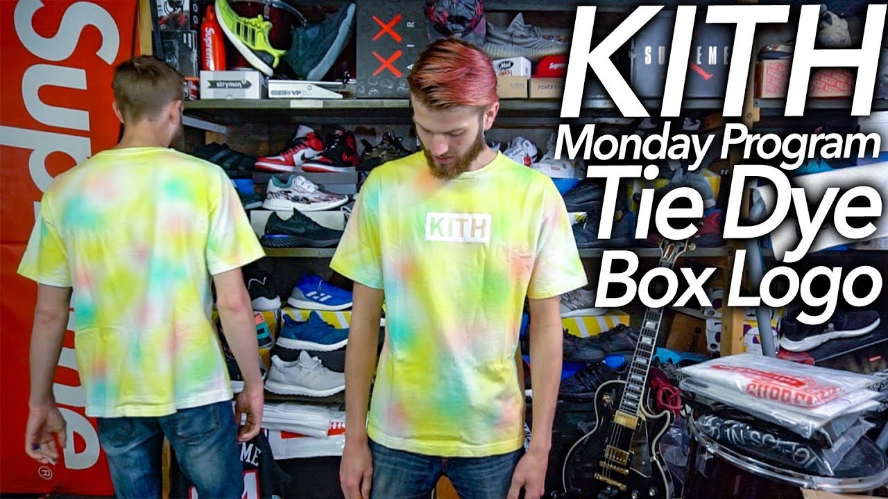 Kith Tie Dye Box Logo Palace Cop Vlog Progress Writing My New Original Song Youtube