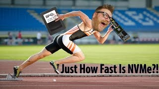 NVMe vs Sata iii - How much faster is it? - MyDigitalSSD BPX Review