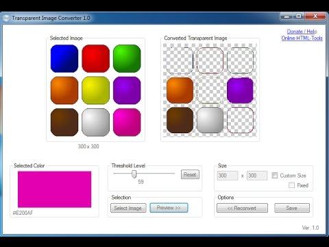 Remove Multiple Background Color To Transparent Background Using Transparent Image Converter