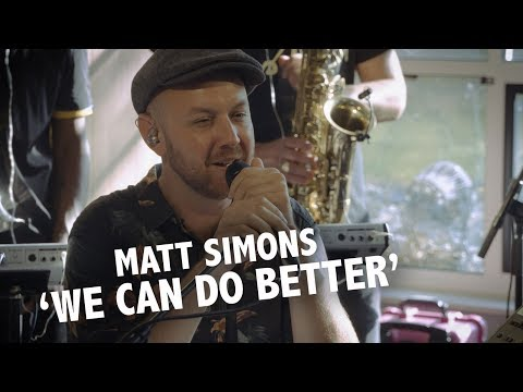 Matt Simons - 'We Can Do Better' live @ Ekdom in de Ochtend