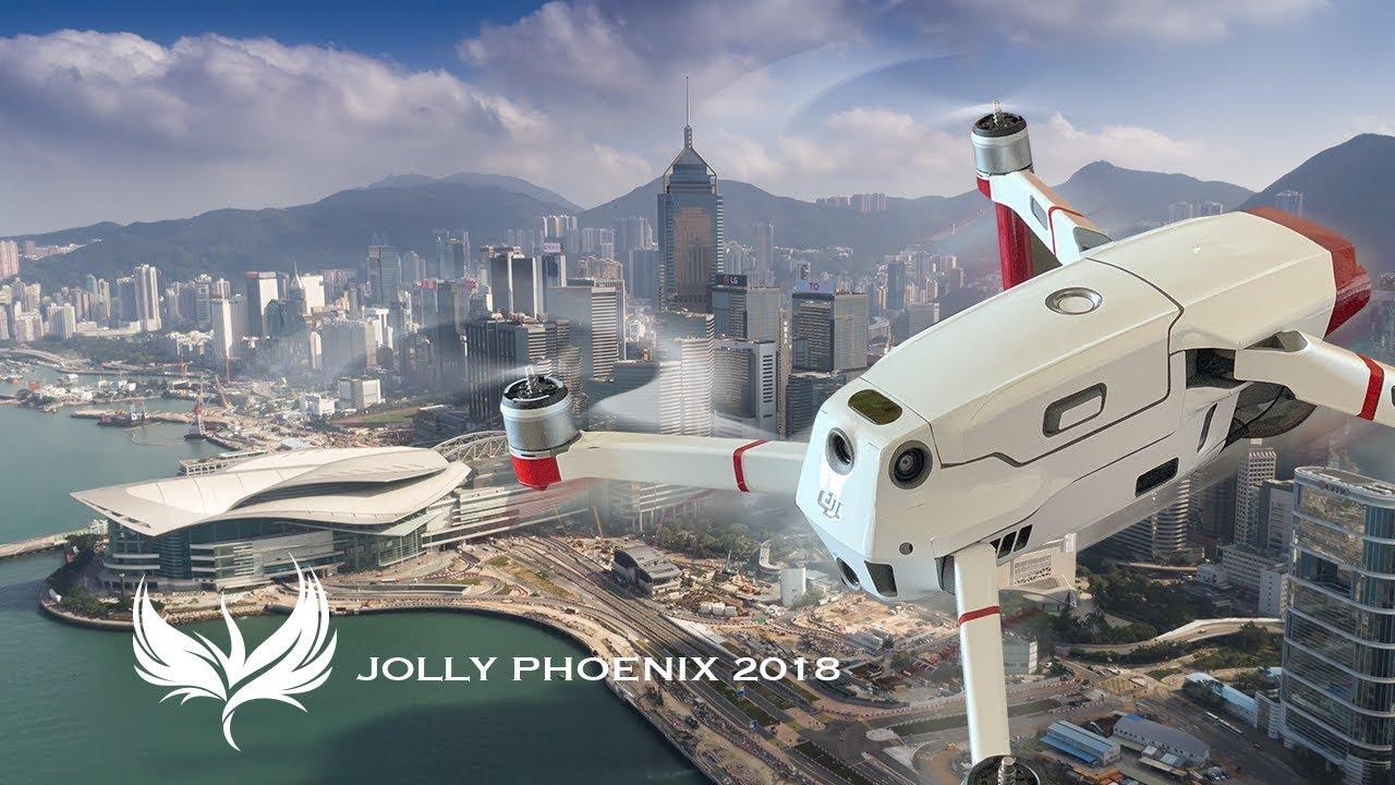 Mavic 2 Zoom FCC mod 32 at Wanchai and Hong Kong District