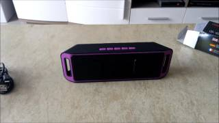K812 Portable Bluetooth V2.1 Stereo Speaker - REVIEW