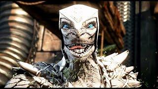 Mortal Kombat X Fatalities  Albino Reptile Mod