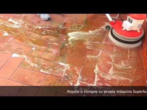 Limpieza de eflorescencias y verd n en terraza exterior youtube - Como limpiar piso de ceramica exterior ...