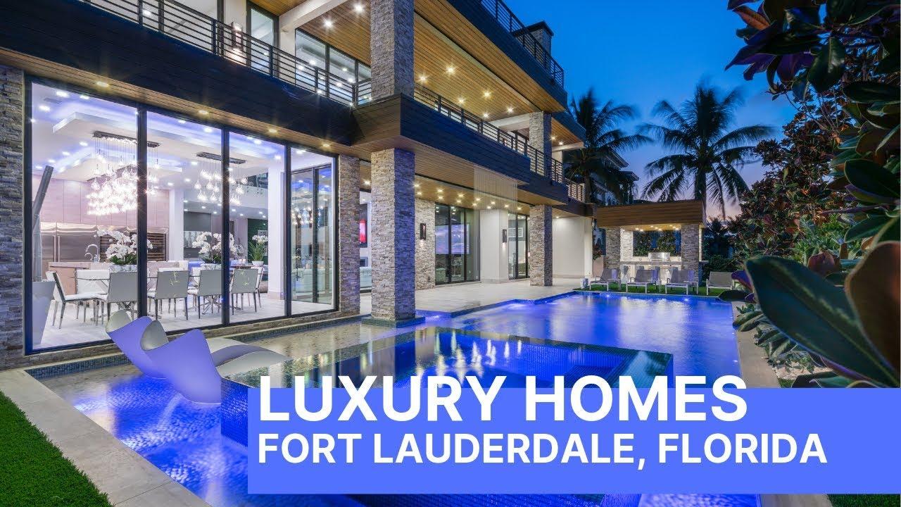 Miami Florida Luxury Mansion Open House - Step Inside!! - YouTube