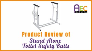 Product Review of Vive Stand Alone Toilet Rails