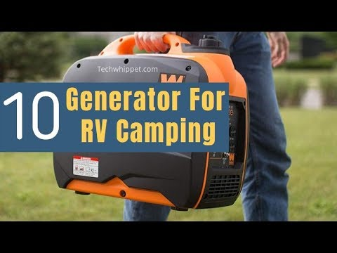 ✅Top 10 BEST Portable Generator For RV Camping of 2019 -Buying Guidelines