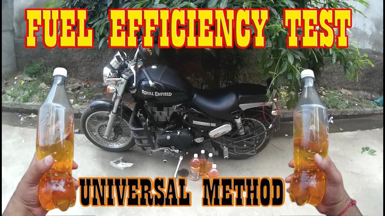 Royal Enfield Thunder Bird Mileage Test/Fuel Efficiency/Fuel ...