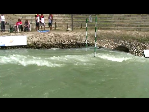 #ICFSlalom 2017 Junior & U23 Canoe World Championships, Bratislava, Sunday morning finals evens