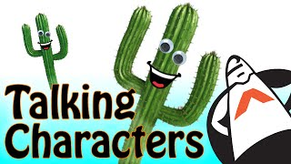 How to make your Characters Talk using Voice Overs and Lip Syncing with Animated Mouth Shapes