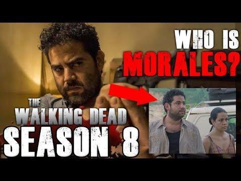 The Walking Dead Season 8 - Who is Morales?