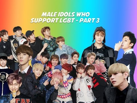 MALE IDOLS WHO SUPPORT LGBT - PART 3 (BTS, EXO, HOLLAND, ETC.)