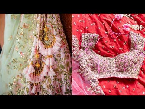 Single Designer Lehenge 250₹ से जिनका आपको इंतेज़ार था Handwork Bridal Garlish Lehenge Urbanhill