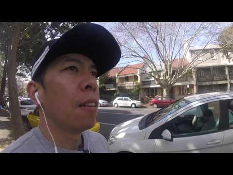Walking in Surry Hills, Sydney