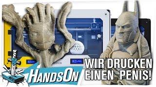 Wir drucken einen 3D-Penis!! - HandsOn 3D Drucker