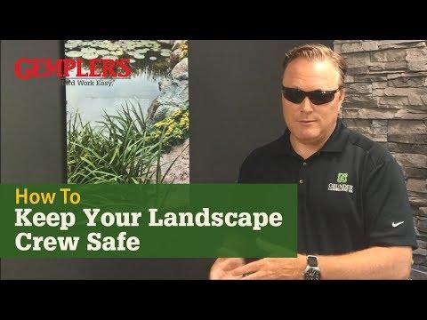 Tips on How Grunder Landscaping Co. Keeps its Landscaping Crews Safe