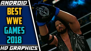 TOP-5 BEST WWE GAMES OF 2018 FOR ANDROID WITH HD GRAPHICS |REALASTIC GRAPHICS WWE GAMES  FOR ANDROID