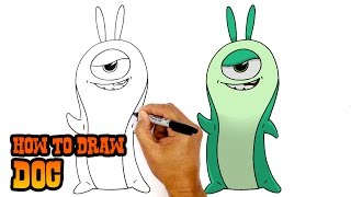 How to Draw Doc | Slugterra