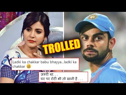Virat Kohli TROLLED For Praising Anushka Sharma Performance In Zero