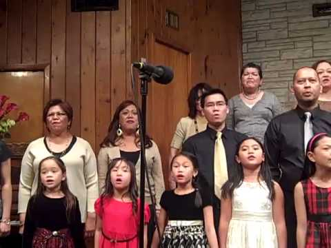 """""""Glory in the Highest"""" Christmas cantata - The FFBC/GHF Chancel & Junior Choirs"""