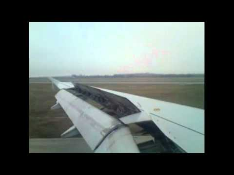 Olympic Air A320 Athens-Vienna (ATH-VIE) OA155 Approach,Landing and Taxing.!!