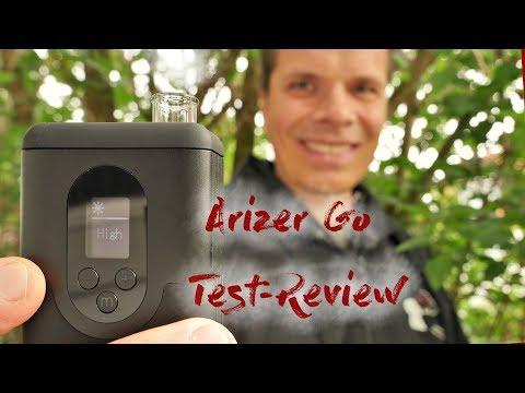 Arizer Go (ArGo) Vaporizer Test/Review deutsch