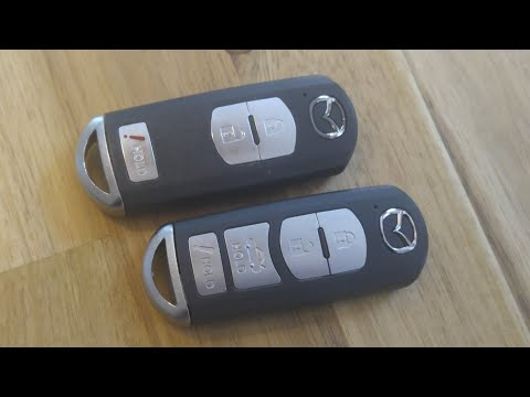Mazda Key Fob Remote Battery Replacement – DIY
