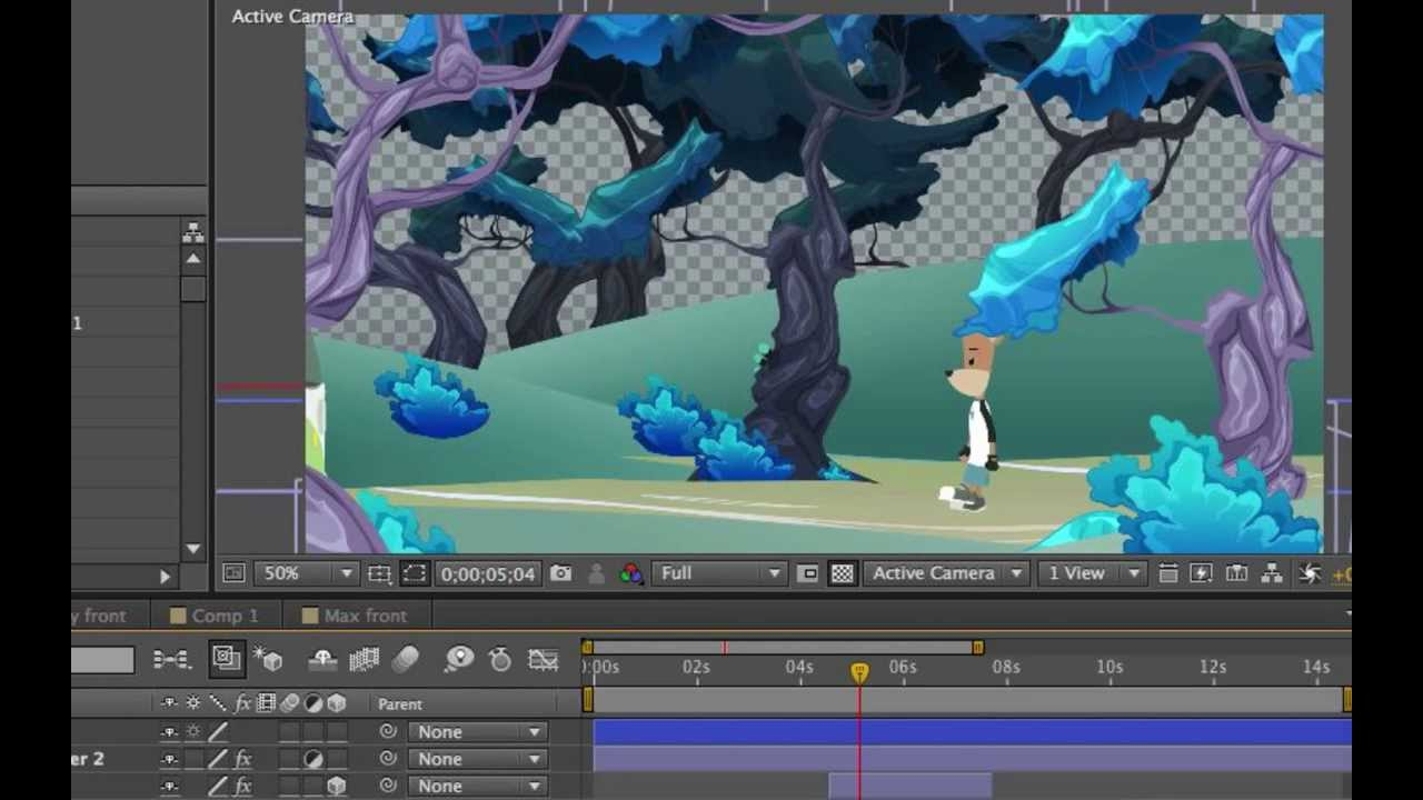 adobe after effects 2d animation