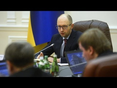New Ukrainian government gets to work