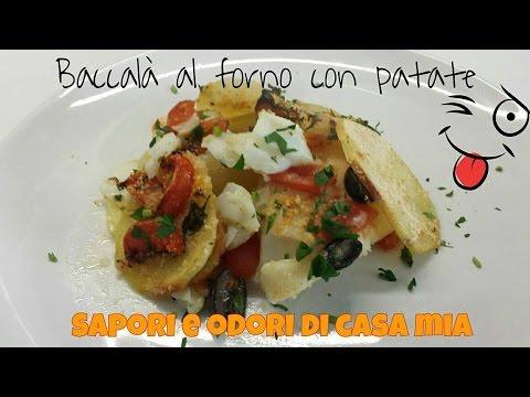 ricetta veloce baccalà al forno con patate,quick r