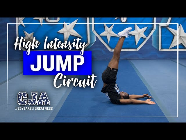 High Intensity Jump Circuit | CJA | Central Jersey Allstars