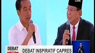Download Video Debat kedua Capres Pemilu 2019 - Debat Inspiratif - Pilpres 17 feb 2019 MP3 3GP MP4