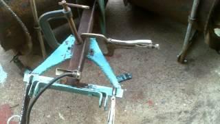 Homemade Garden Tractor V Plow
