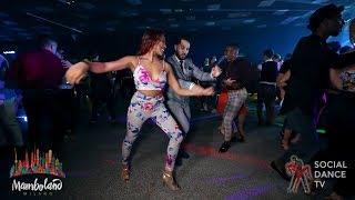 Geovanny Ricardo & Briia Comilang - salsa social dancing | Mamboland Milano 2018